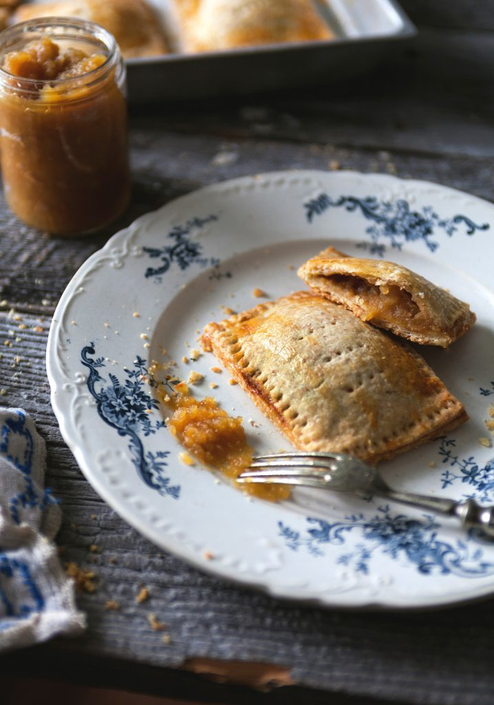 Molasses apple turnovers
