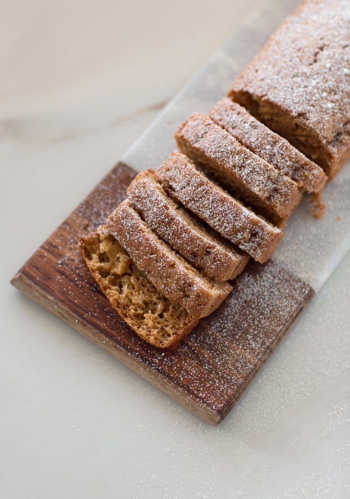 Gâteau au yogourt & pommes