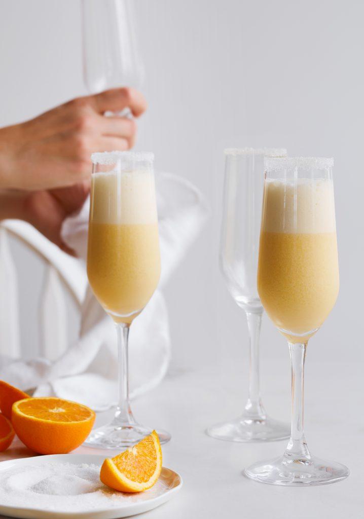 Creamy orange Mimosa