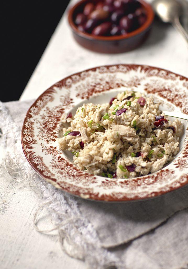 salade de riz brun au thon olives noires trois fois par jour. Black Bedroom Furniture Sets. Home Design Ideas