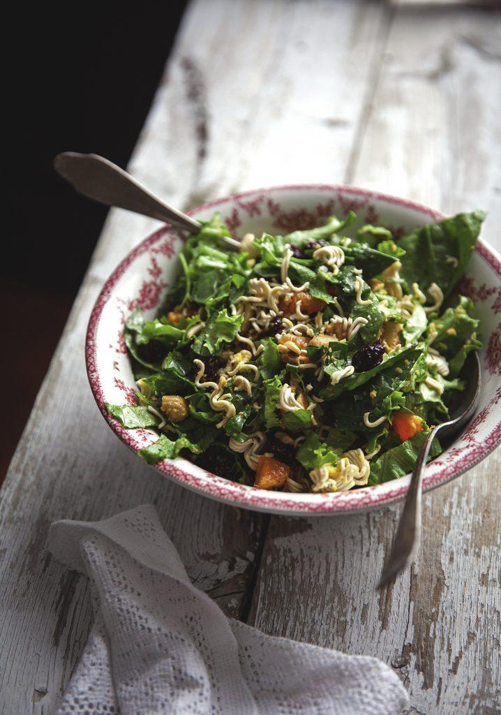 salade verte vinaigrette au concombre la lime trois. Black Bedroom Furniture Sets. Home Design Ideas