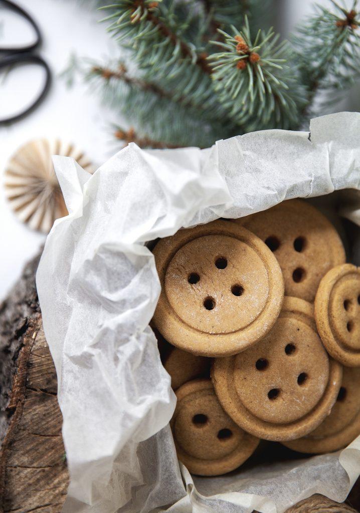 Biscuits au pain d'épice de Marilou