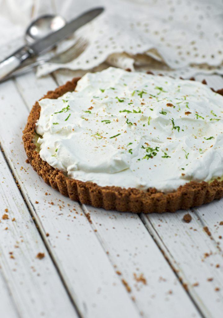 Tarte à la lime (Key Lime Pie)