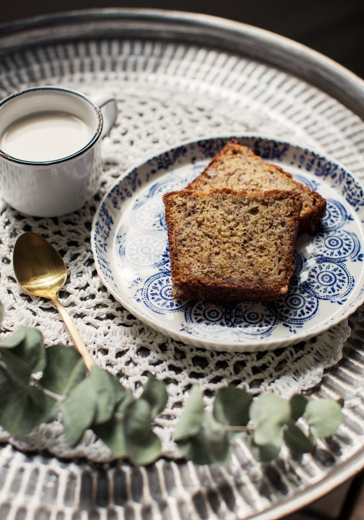 BANANA BREAD & GREEK YOGURT