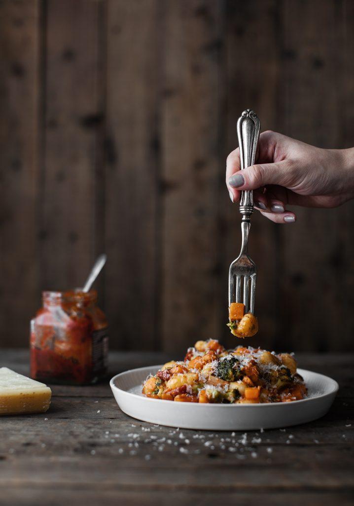 Gnocchis express aux légumes & au fromage