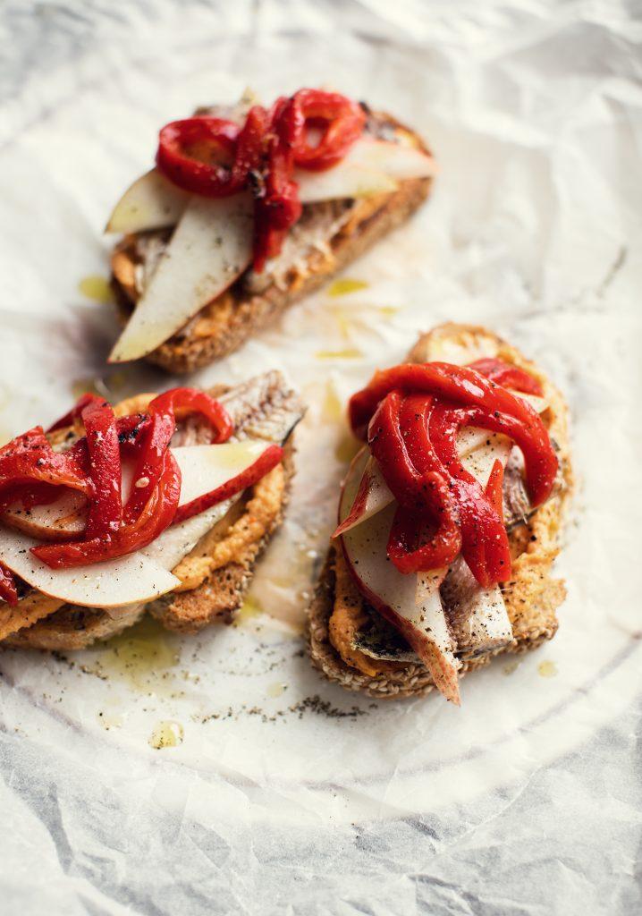 Toasts aux sardines