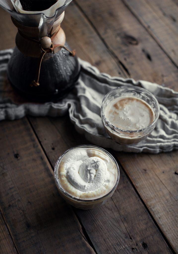 Café moka au chocolat blanc
