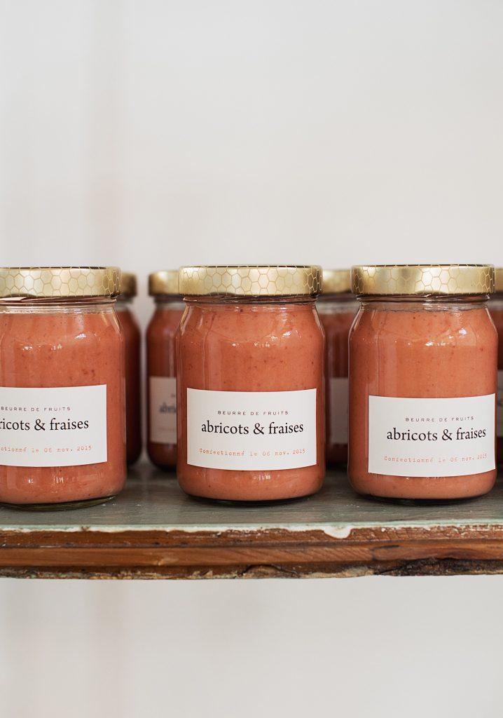 Beurre de fraises & abricots