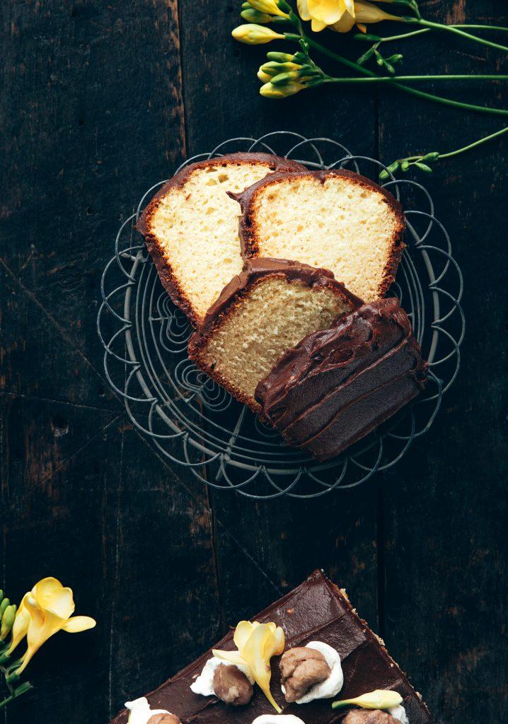 Glaçage aux marrons & au chocolat