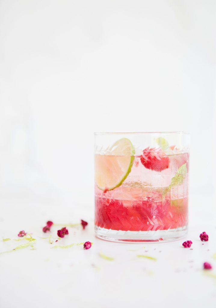 Raspberry mojitos (popsicle mix)