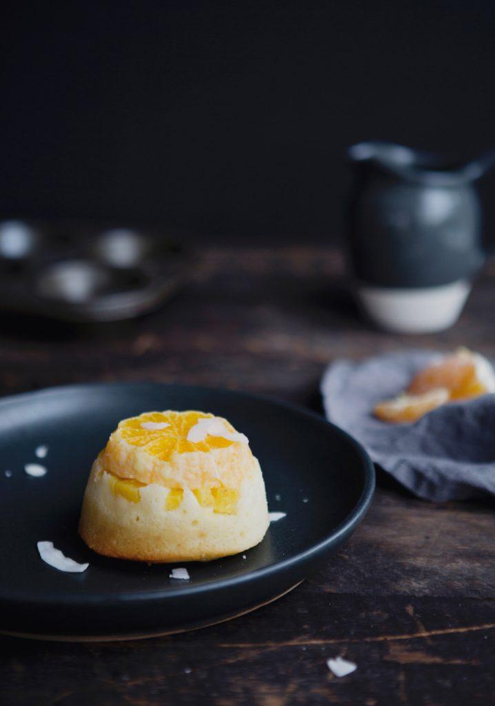 G teaux renvers s la noix de coco l orange l ananas trois fois par jour - Conservation ananas coupe ...