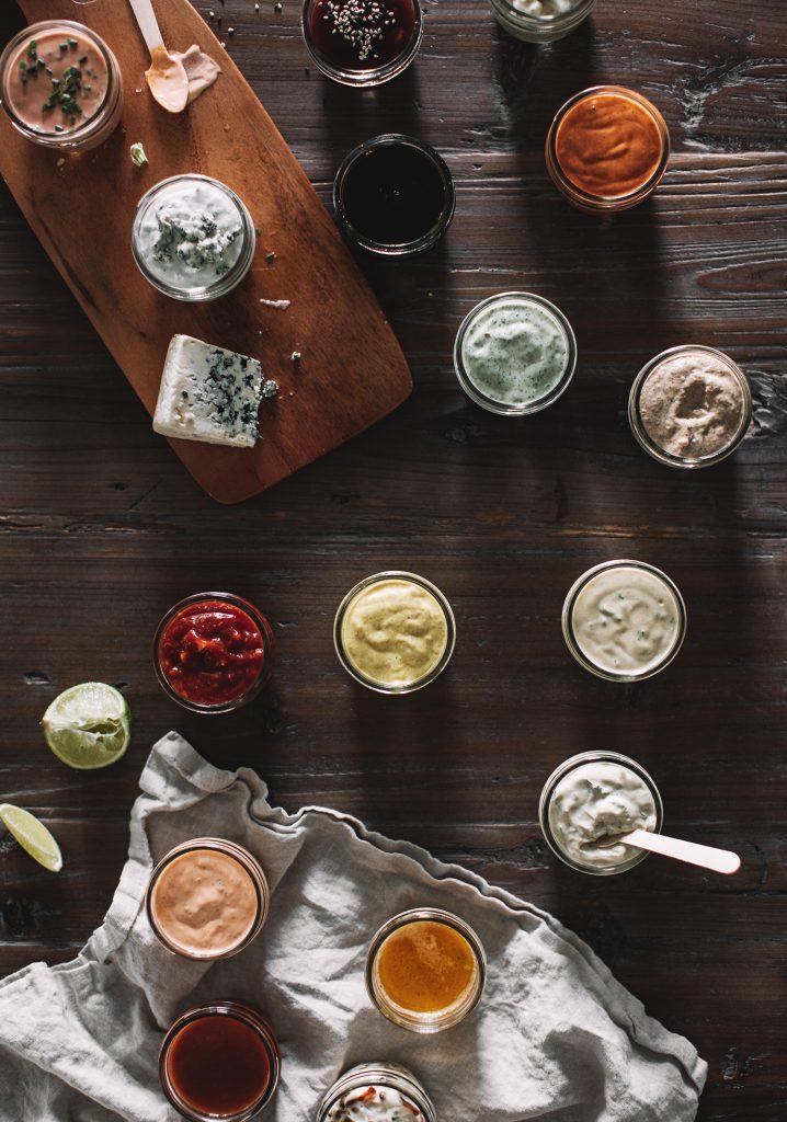 Sauces pour fondue chinoise