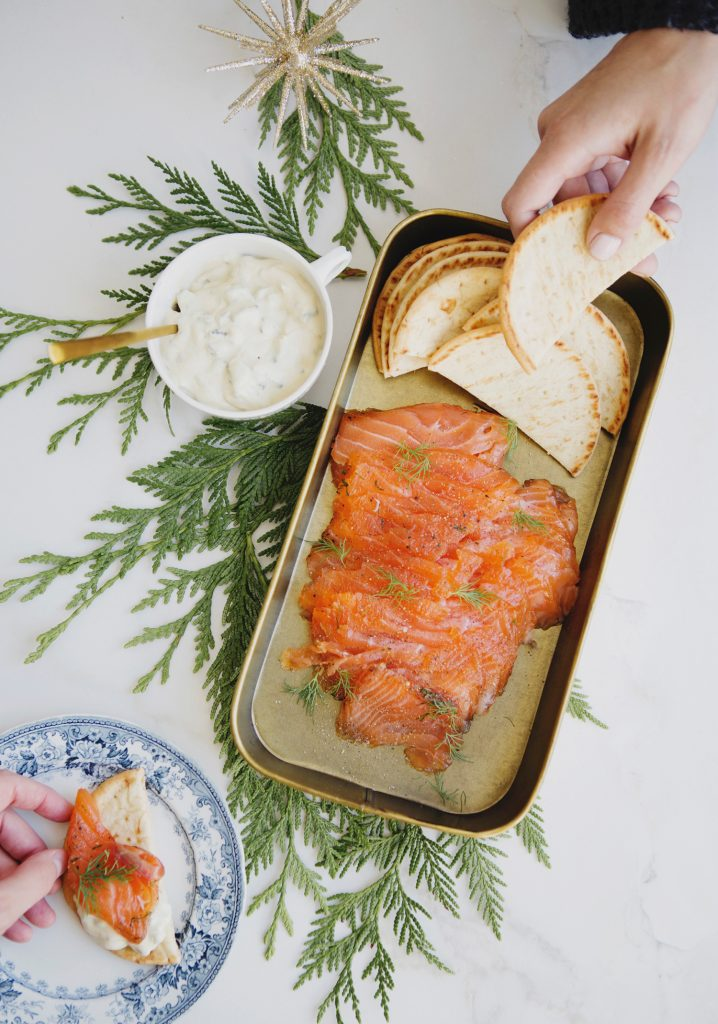 Steak spice gravlax