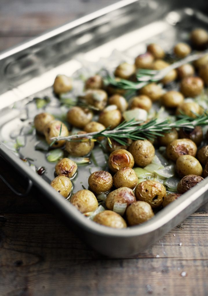 Rosemary & lemon confit potatoes
