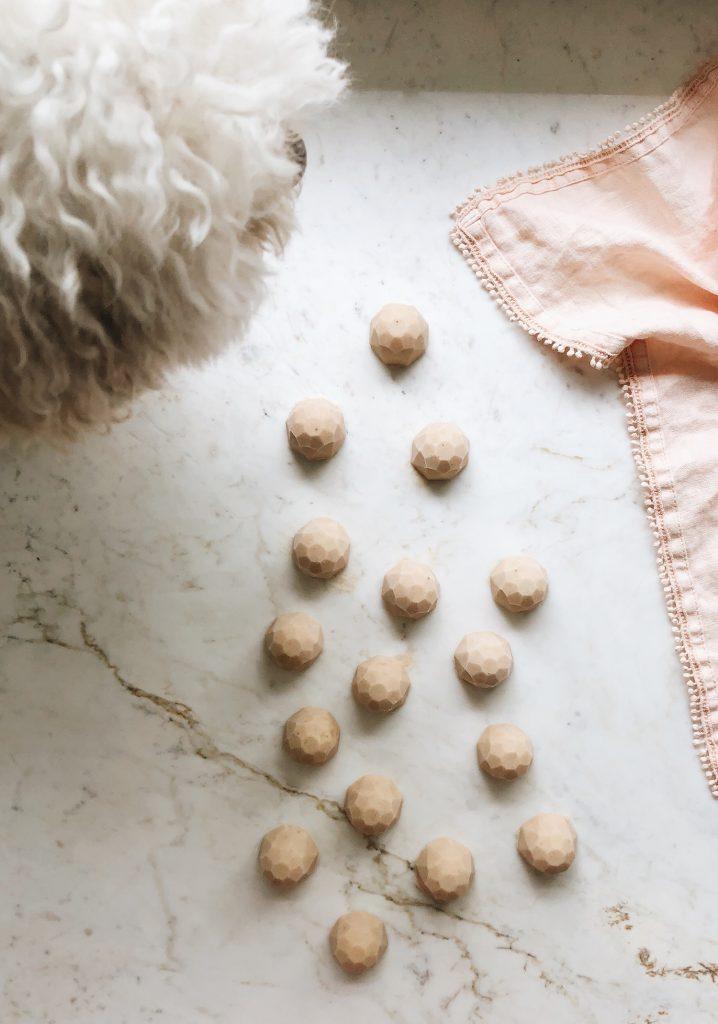 Bouchées glacées pour chiens