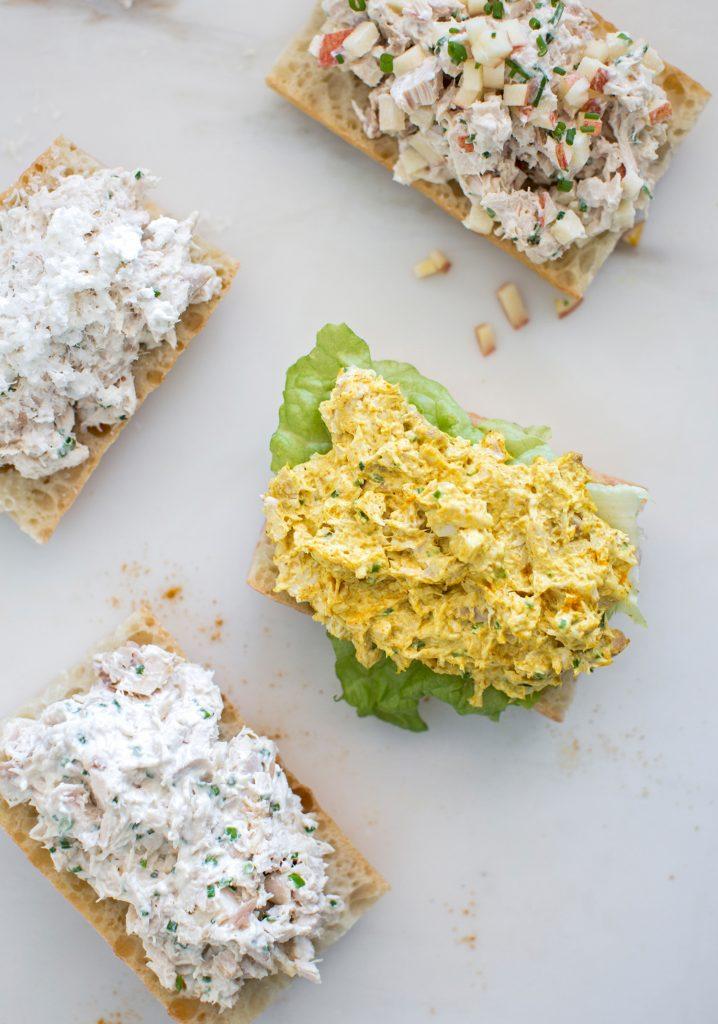 Salade de poulet à personnaliser (pour sandwich)