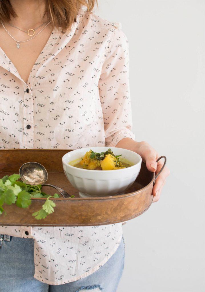 Soupe aux légumes (vide-frigo)