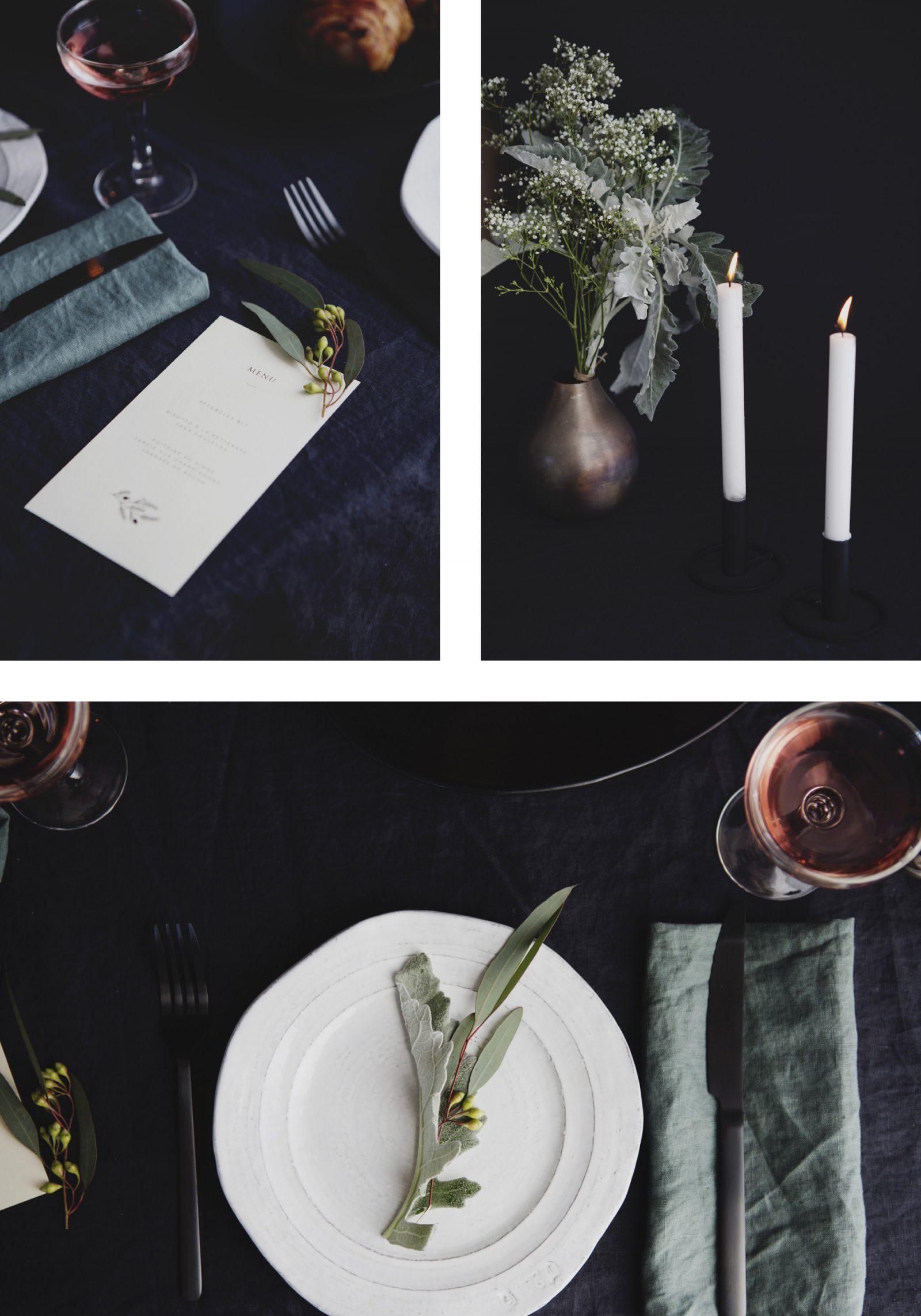 Ordre Des Plats Dans Un Menu De Noel.Une Table Des Fetes Un Menu Cle En Main Trois Fois Par Jour