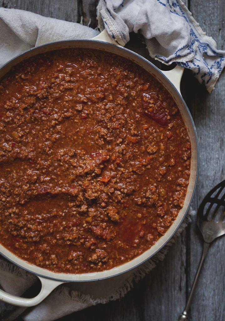 La sauce à spag de Marilou - Trois fois par jour