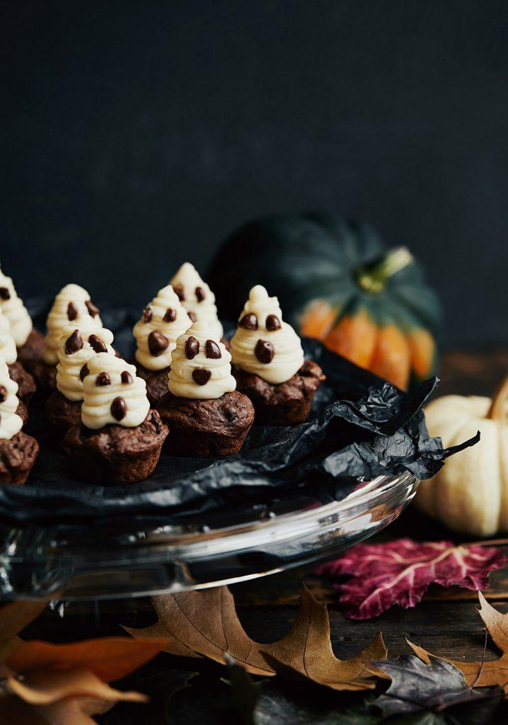 Mini-muffins fantômes
