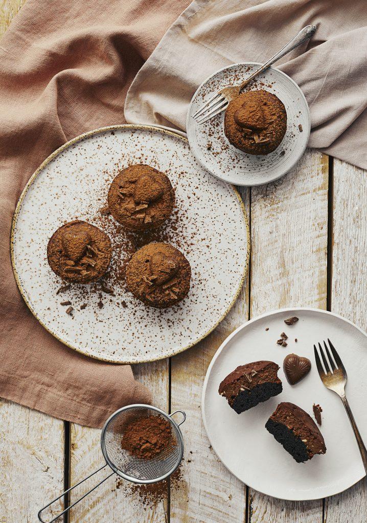 Petits gâteaux au fromage au chocolat