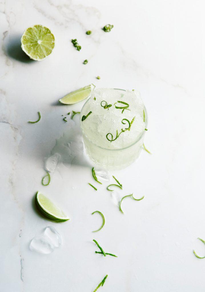 Margarita à la lime & à la canneberge blanche