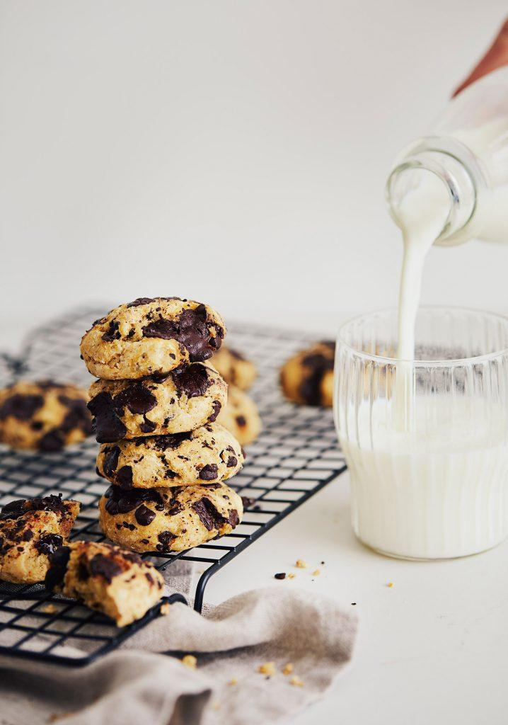 Biscuits aux pois chiches & au chocolat