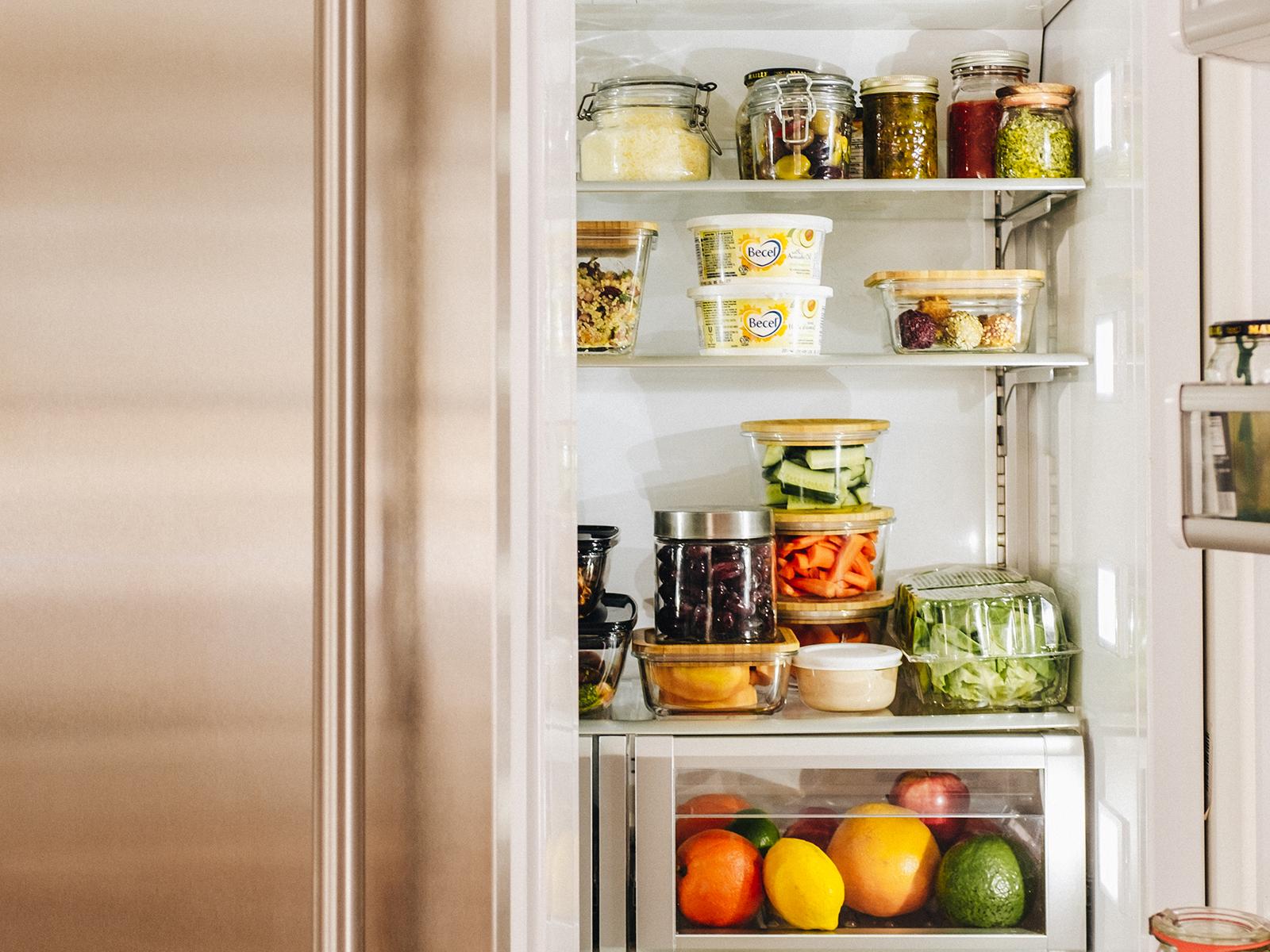 Comment Ranger Dans Un Frigo organiser son frigo - trois fois par jour