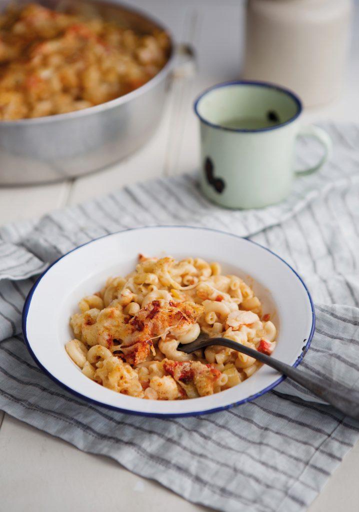 Macaroni au fromage & au homard