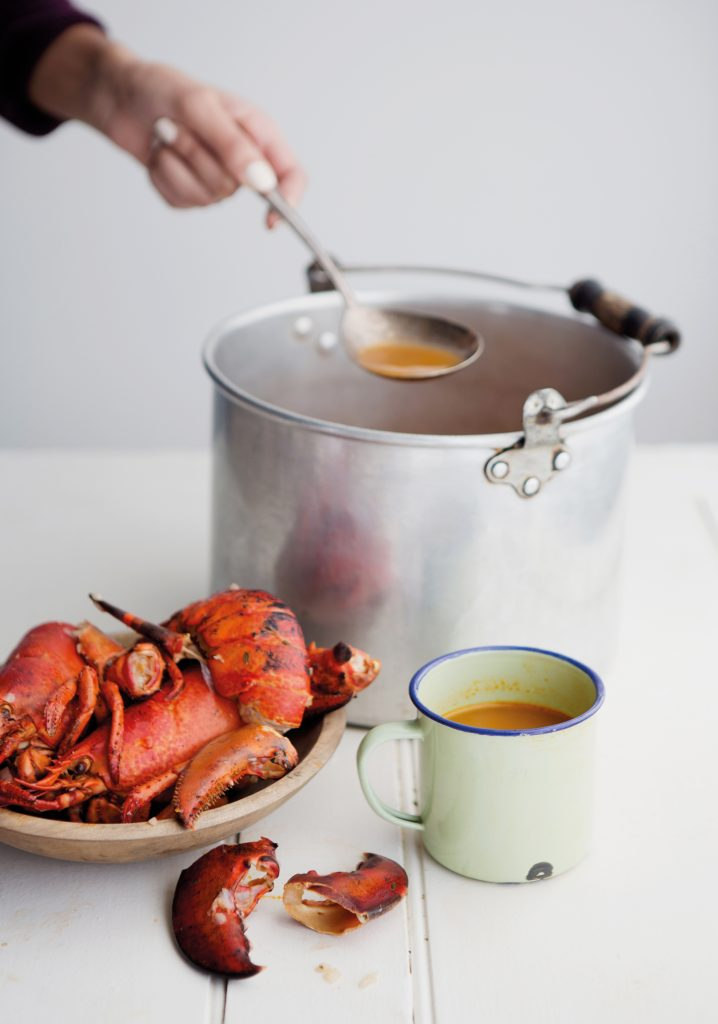 Bouillon de homard