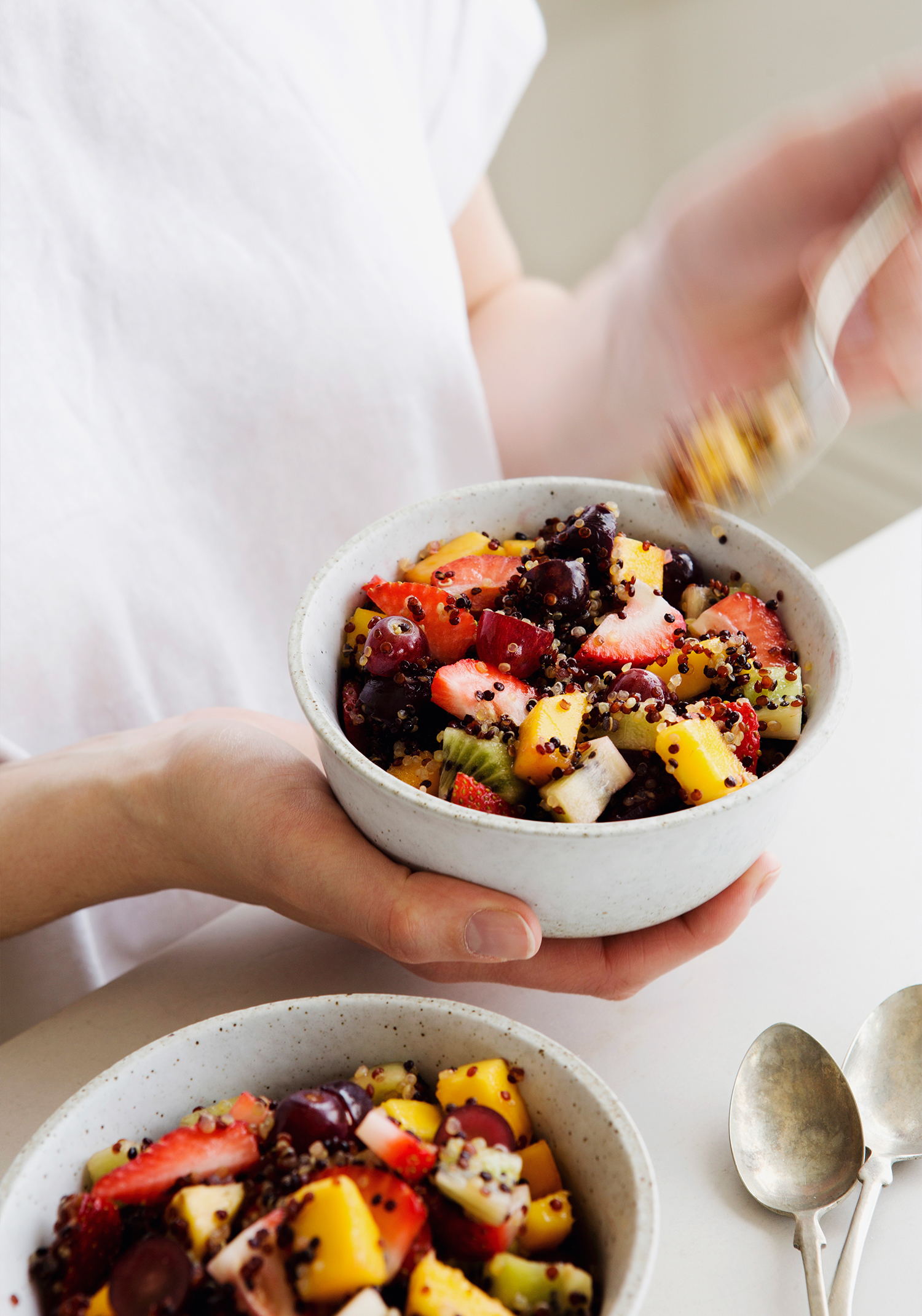 Salade de fruits & quinoa