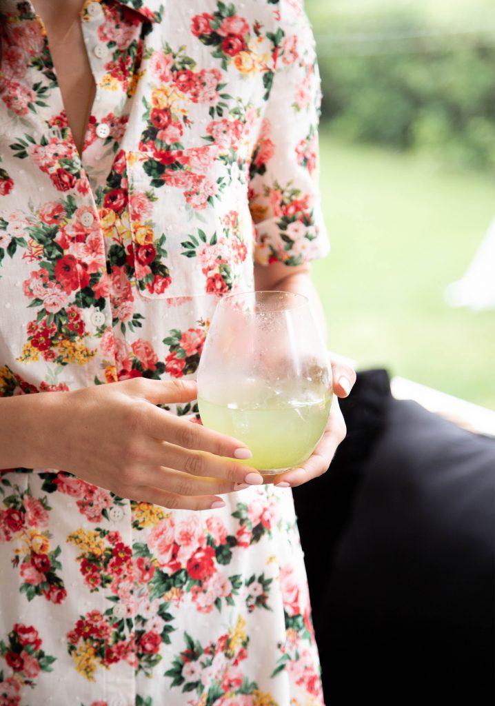 Concentré de limonade au citron, au concombre & à la menthe