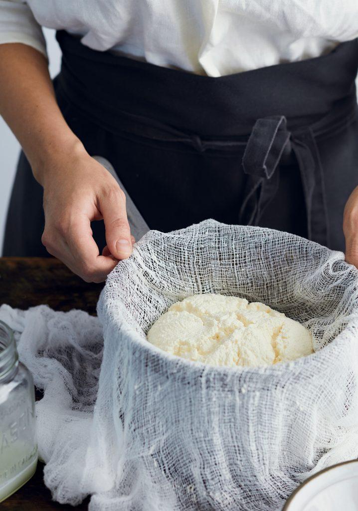 Fromage frais maison (de type ricotta)