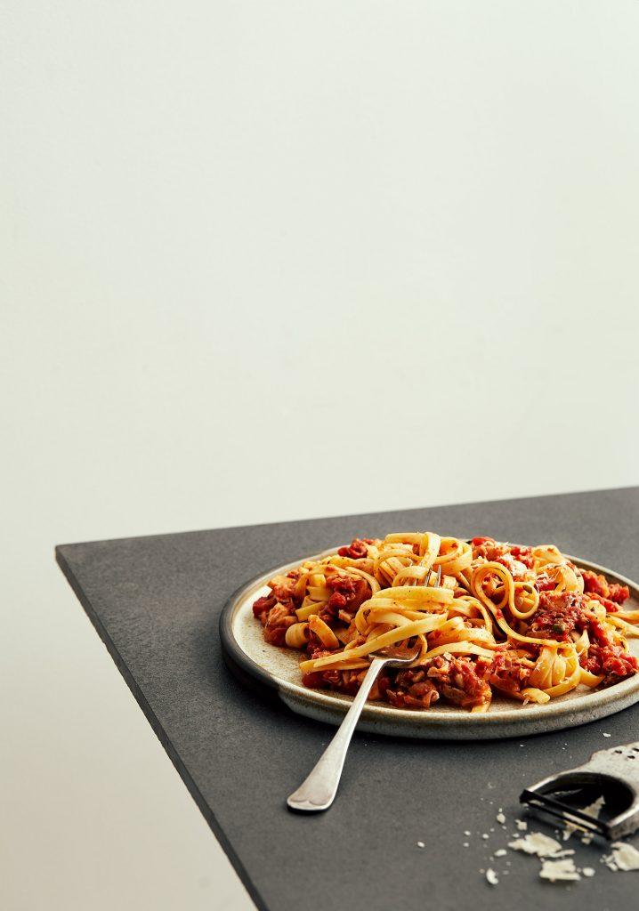 Sauce tomate au poisson & aux herbes