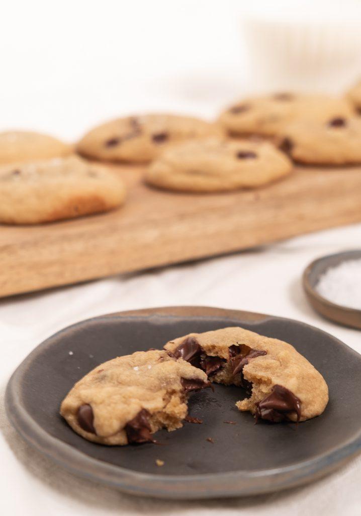 Biscuits tendres et moelleux aux pépites de chocolat