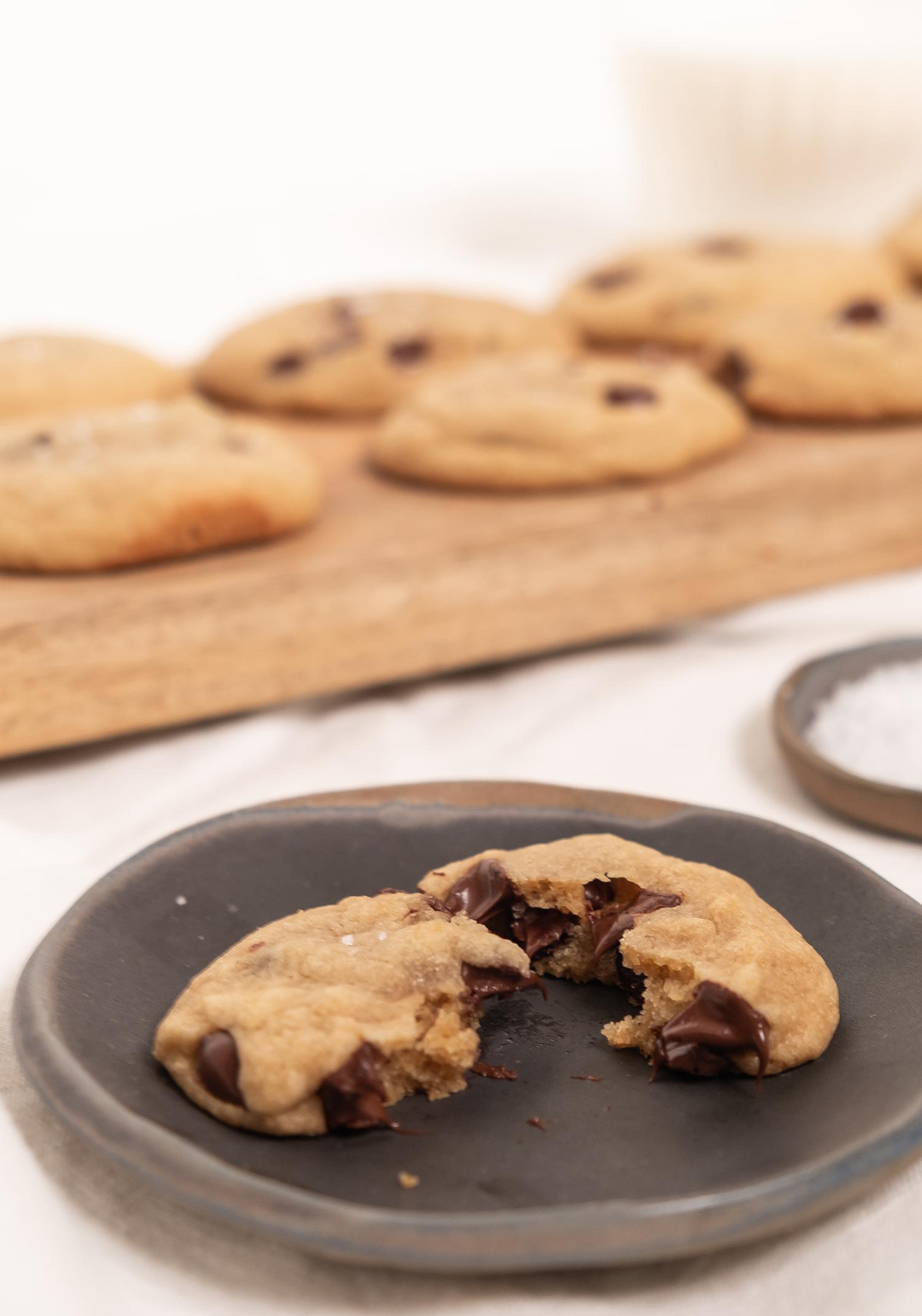 Biscuits Tendres Et Moelleux Aux Pepites De Chocolat Trois Fois Par Jour