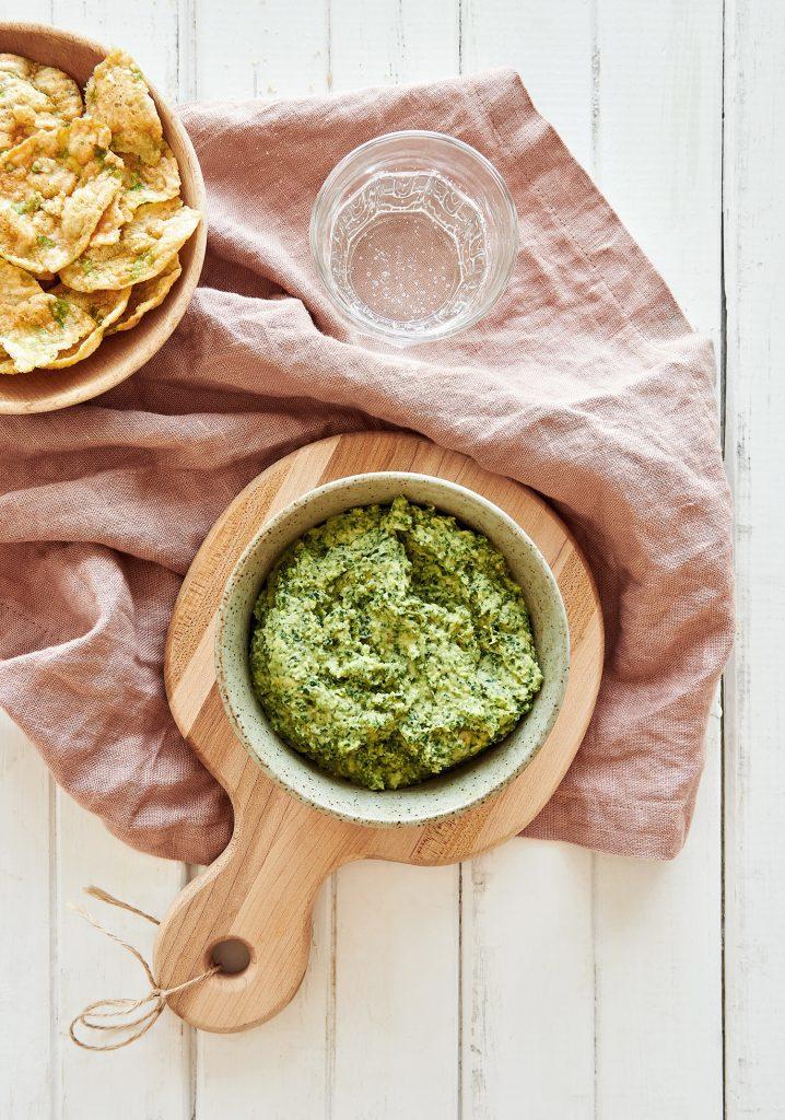 Houmous de kale