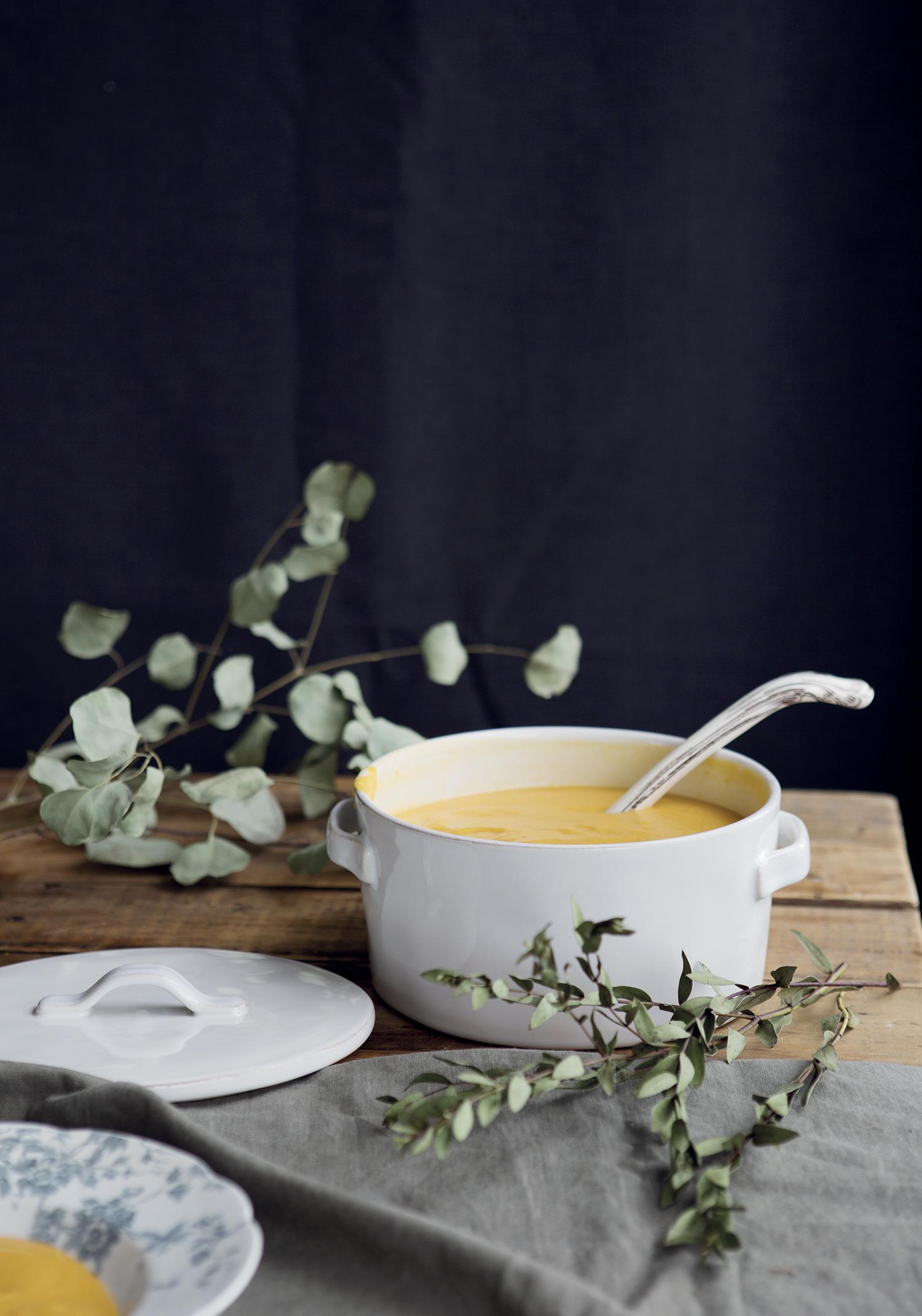 Soupe épicée à la courge