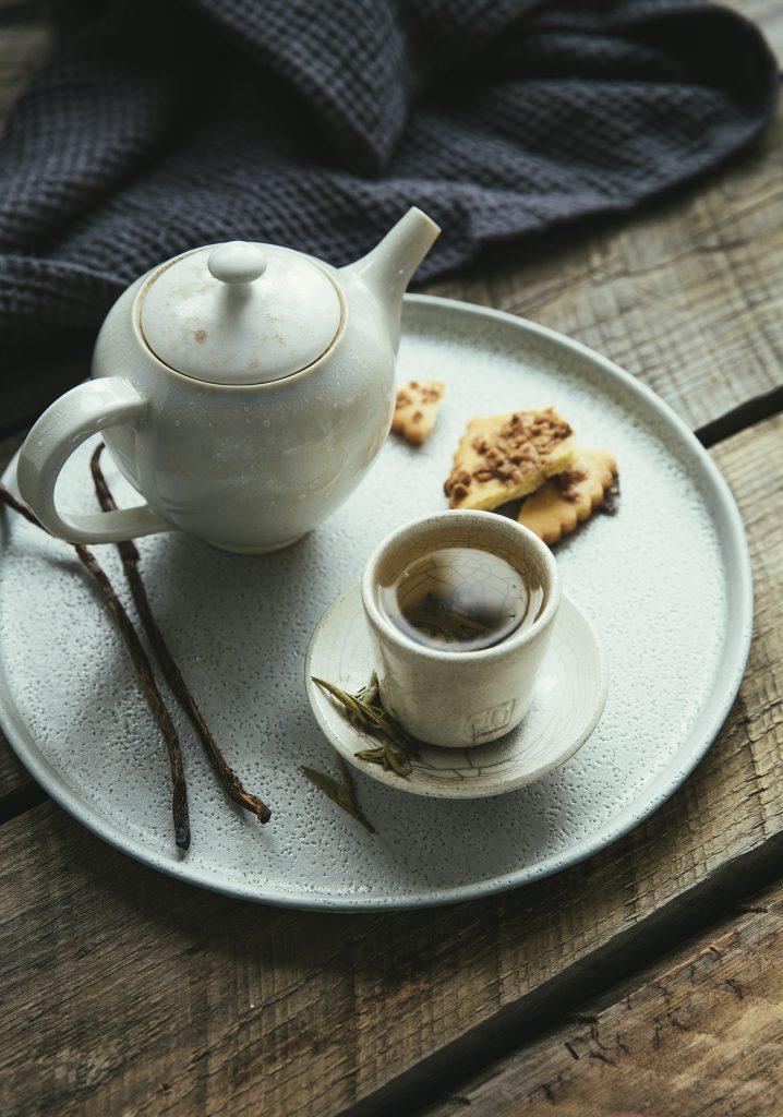 Thé blanc à la vanille