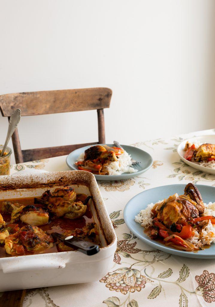 Poulet en sauce haïtien