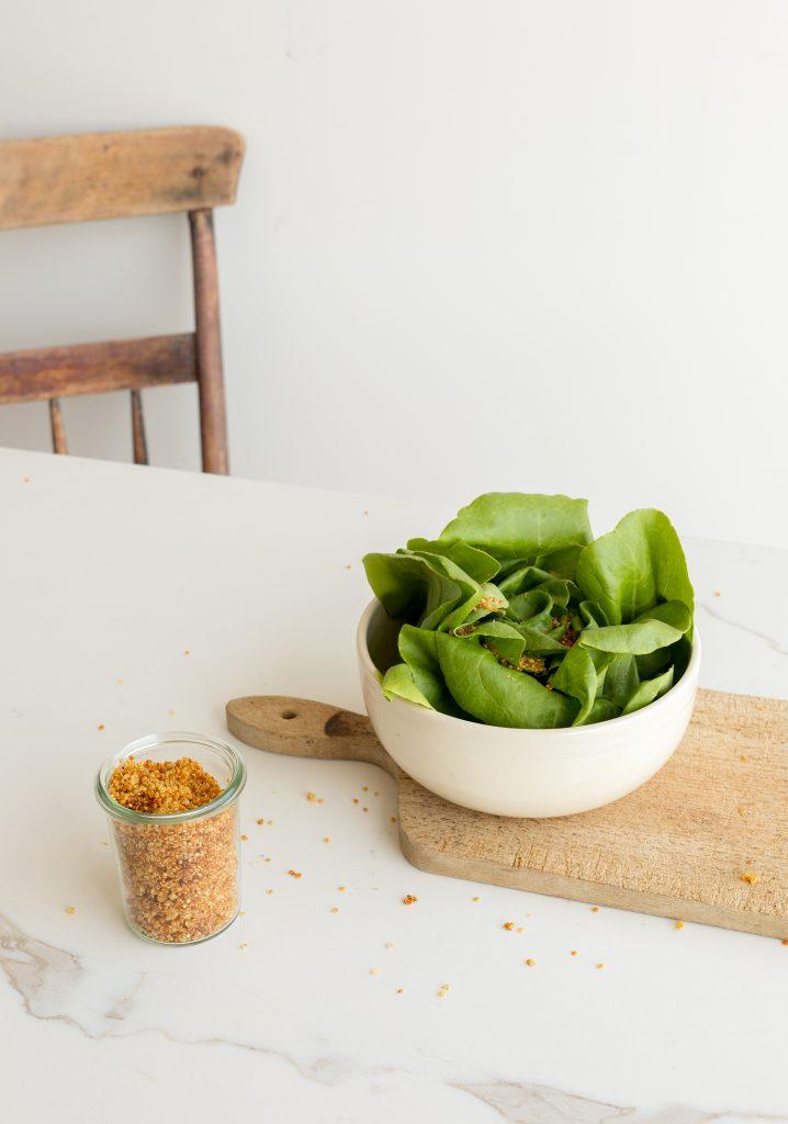 Quinoa croustillant (ou « crounch » à salade)