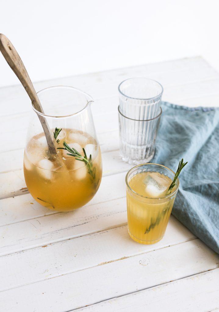 Panaché au citron, au gingembre & au romarin