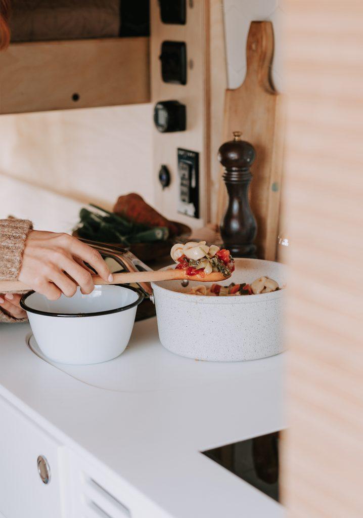 Soupe-repas express aux tortellinis