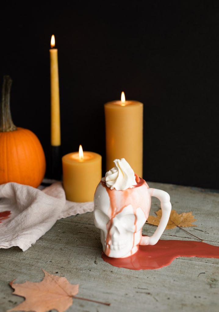 Chocolat chaud de la mort (red velvet)