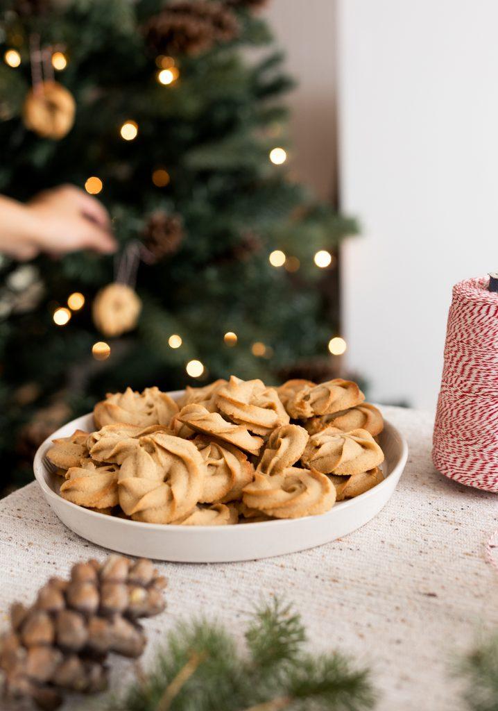 Biscuits danois au café latté