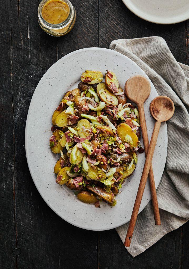 Salade de patates deli & vinaigrette à l'ancienne