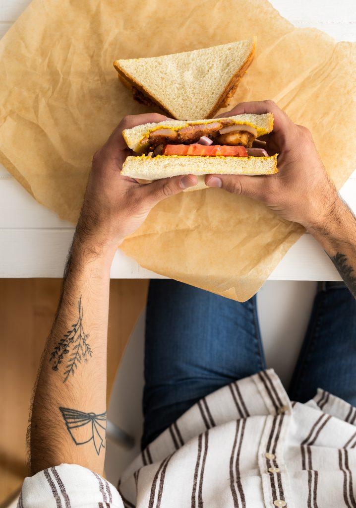 Sandwich aux grillades