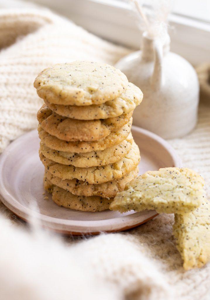 Biscuits à la lime & aux graines de pavot